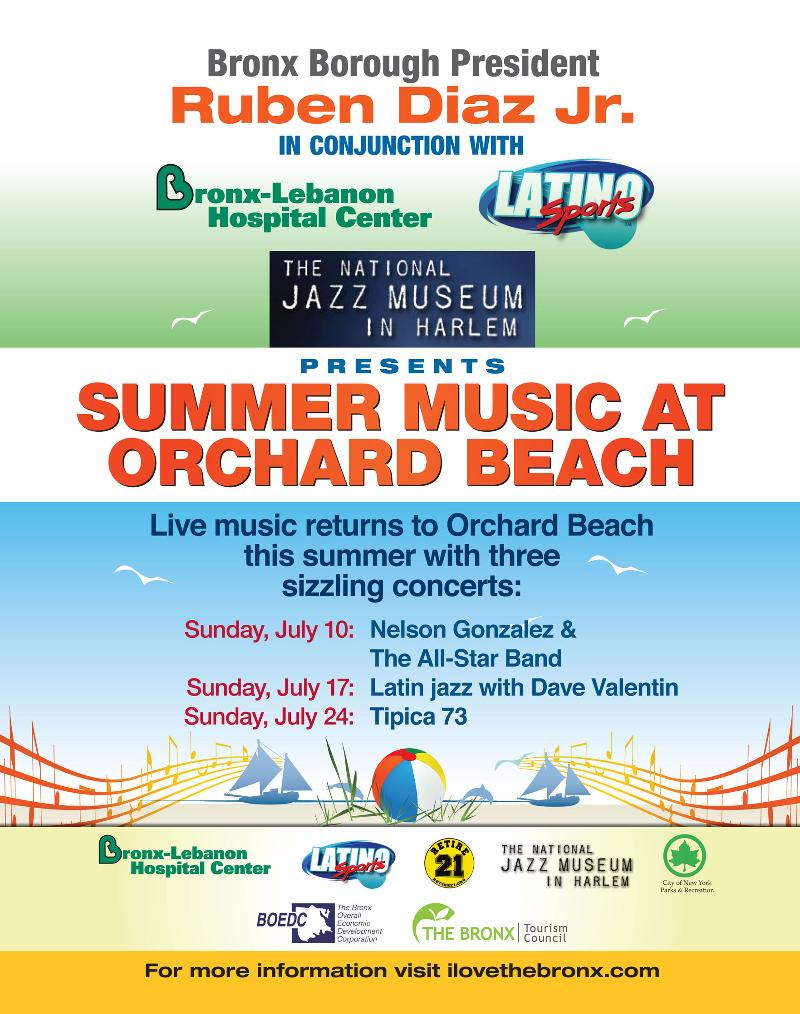 Summer Music at Orchard Beach