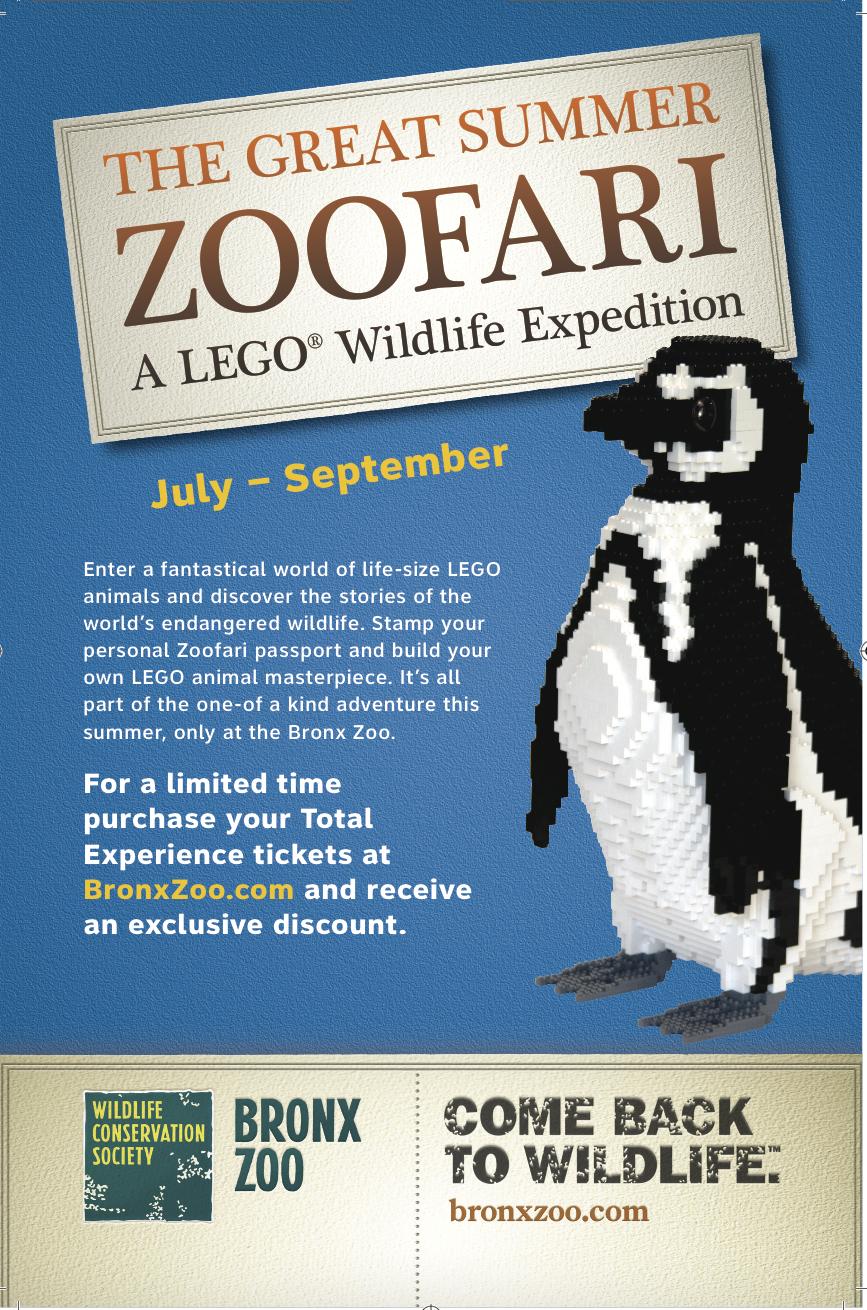 Bronx Zoo LEGO Zoofari