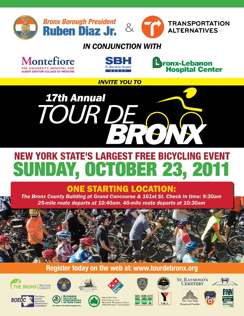 Tour De Bronx