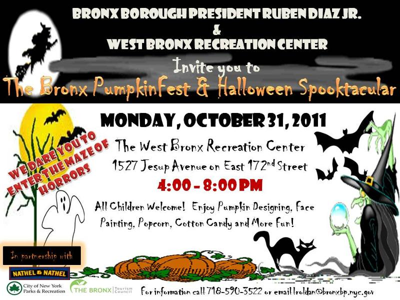 Bronx Pumpkinfest and Halloween Spooktacular