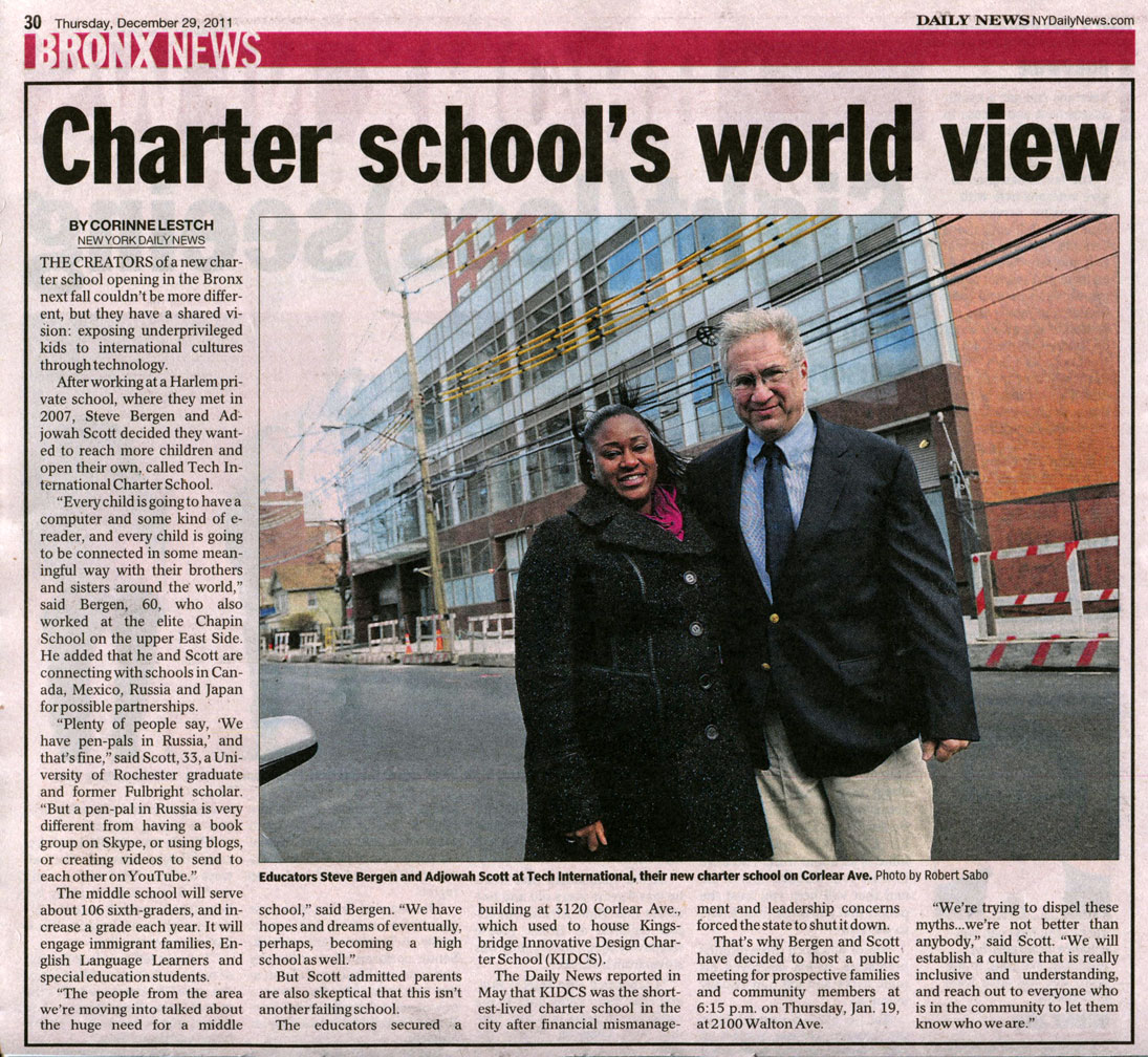 New Charter school in the Bronx