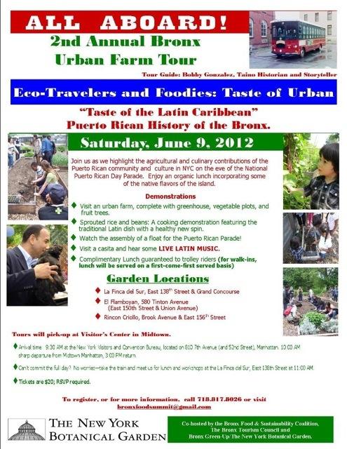 2nd Annual Bronx Urban Farm Tour