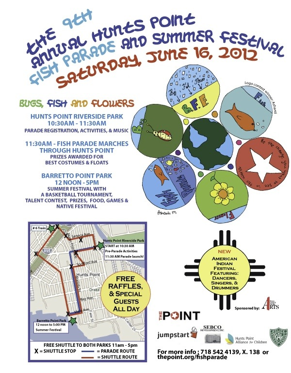 9th Annual Hunts Point Fish Parade and Summer Festival