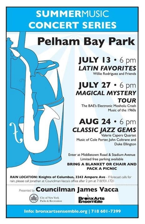 Summer Music Concert Series at Pelham Bay Park