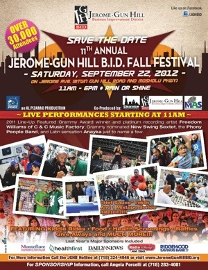 Jerome-Gun Hill BID Fall Festival