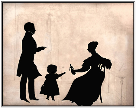 Make Your Own Silhouette Family Workshop