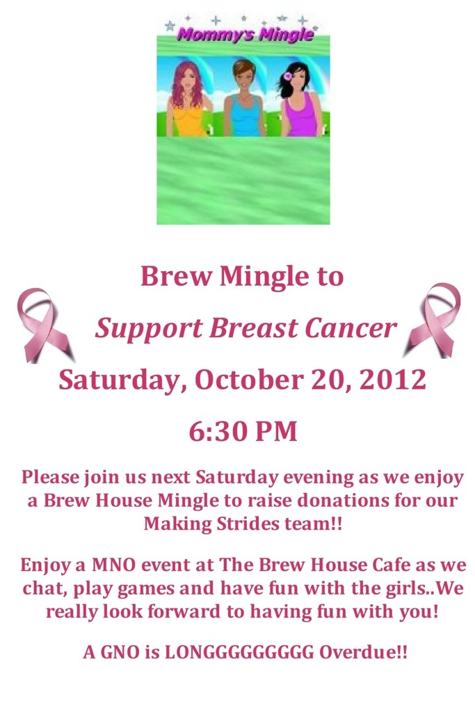 Brew House Mingle for Making Strides