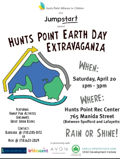 Hunts Point Earth Day Extravaganza