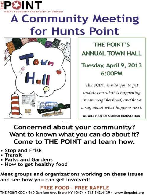 Hunts Point Community Meeting