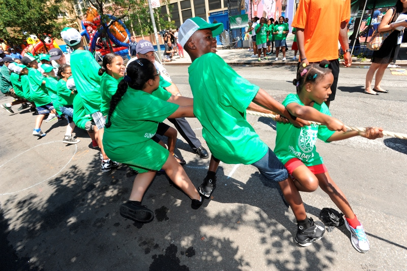 POLICE ATHLETIC LEAGUE KICKS OFF SUMMER PLAYSTREETS PROGRAM SERVING BRONX NEIGHBORHOODS