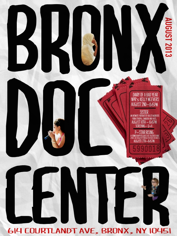 August at the Bronx Documentary Center