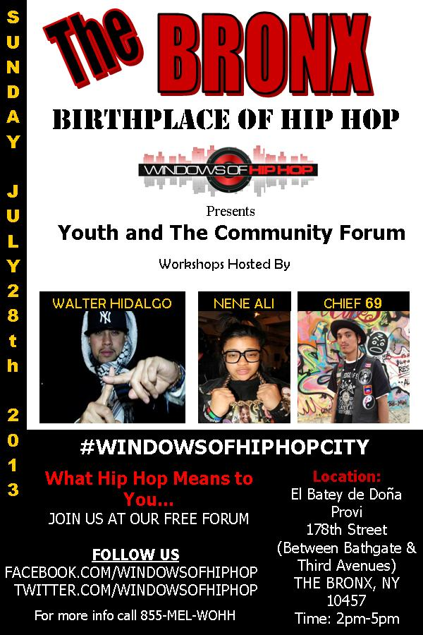 Hip Hop Youth and Community Event