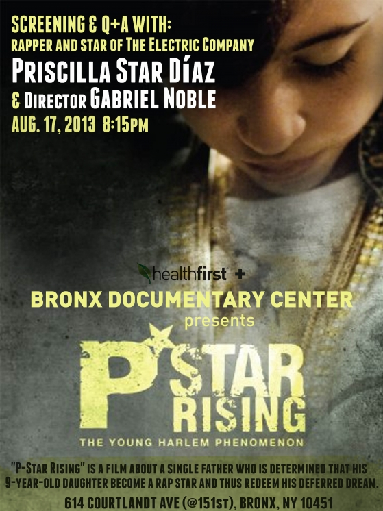 P-Star Rising at the Bronx Documentary Center