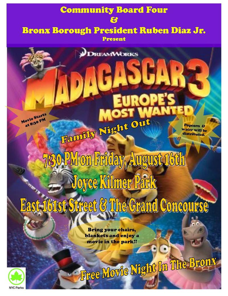 Movie Night: Madagascar 3