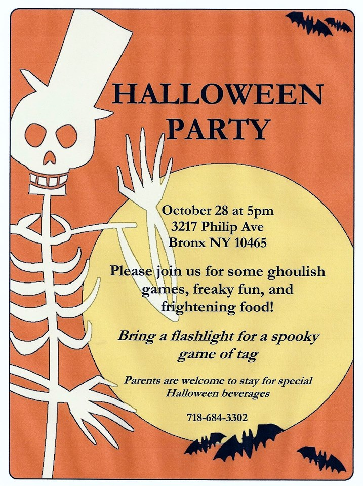 Halloween Party at Brew Coffee House