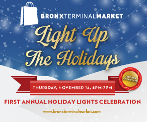 Light Up the Holidays at Bronx Terminal Market