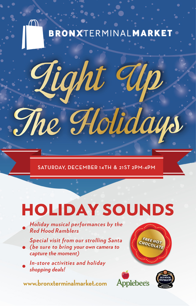 Holiday Sounds at Bronx Terminal Market