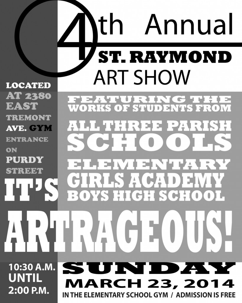 4th Annual St. Raymond Art Show
