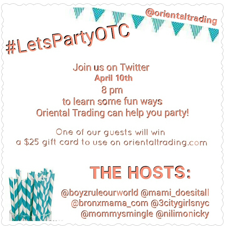 Twitter Party! Oriental Trading