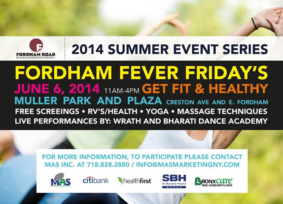 Fordham Fever Fridays: Get Fit and Healthy