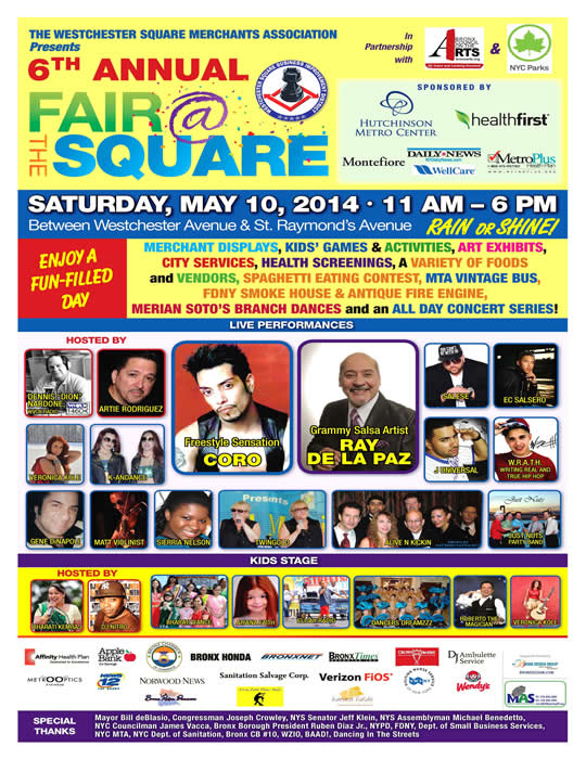 6th Annual Fair at the Square