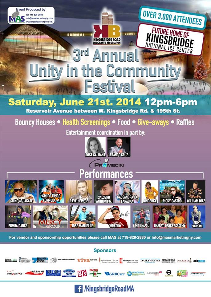 3rd Annual Unity in the Community Festival