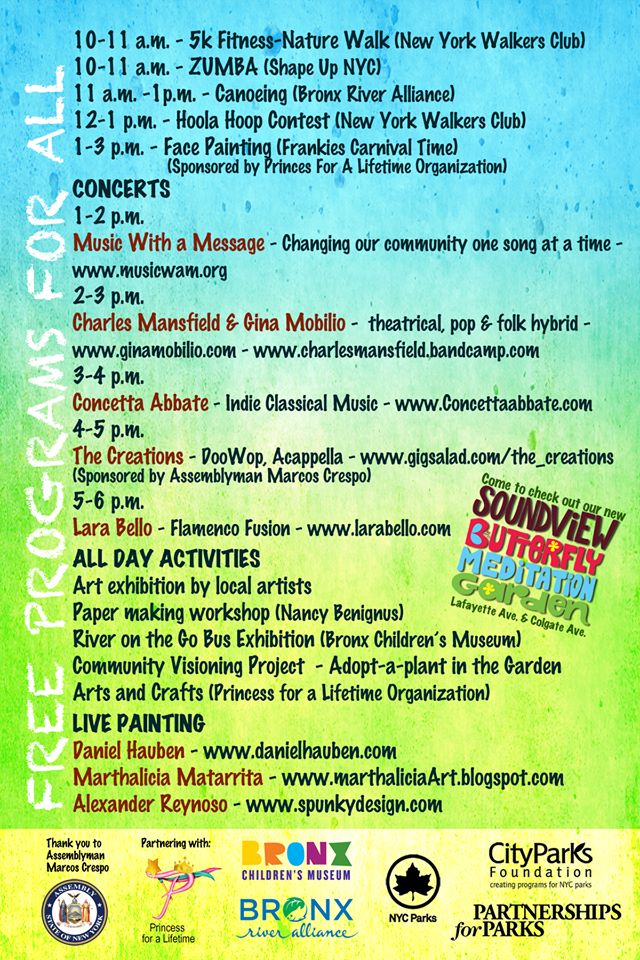 5th Annual Soundview Park Summer Festival