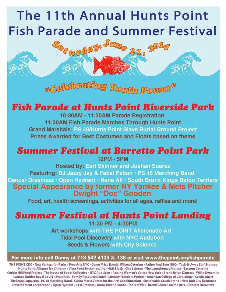 11th Annual Hunts Point Fish Parade