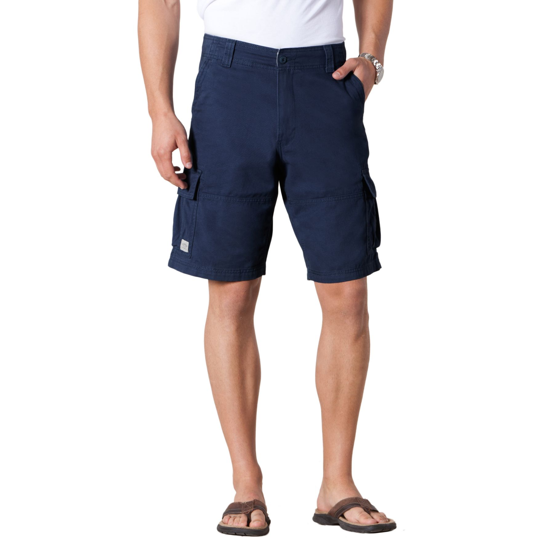 Vintage Cargo Short Blue Knight