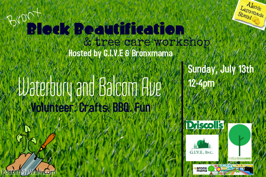 Bronx Block Beautification and Tree Care Workshop