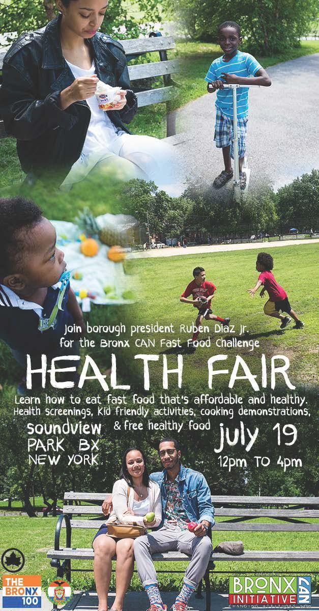 Health Fair at Soundview Park