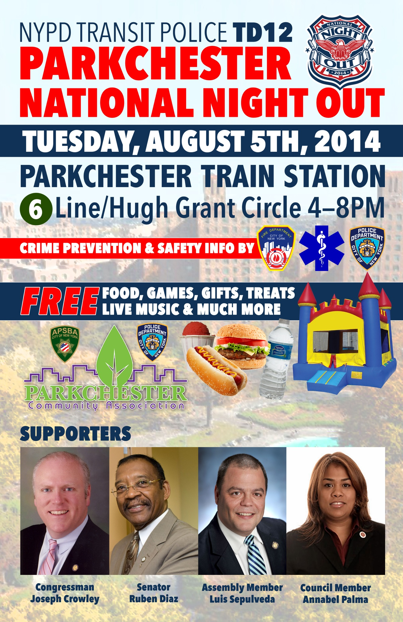 NYPD Transit Police National Night Out