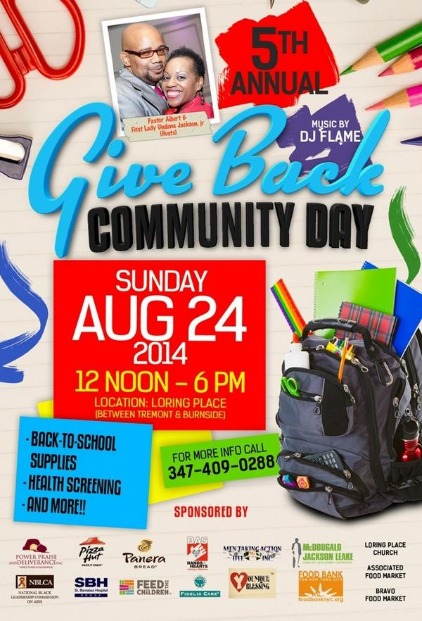 Give Back Community Day