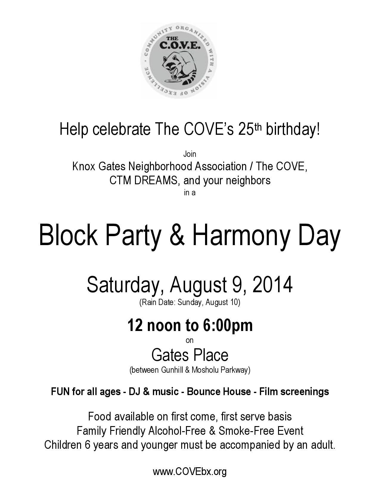 Block Party and Harmony Day