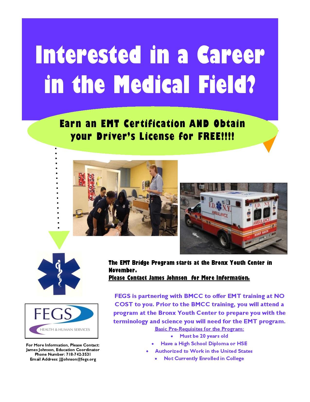 EMT Certification Program