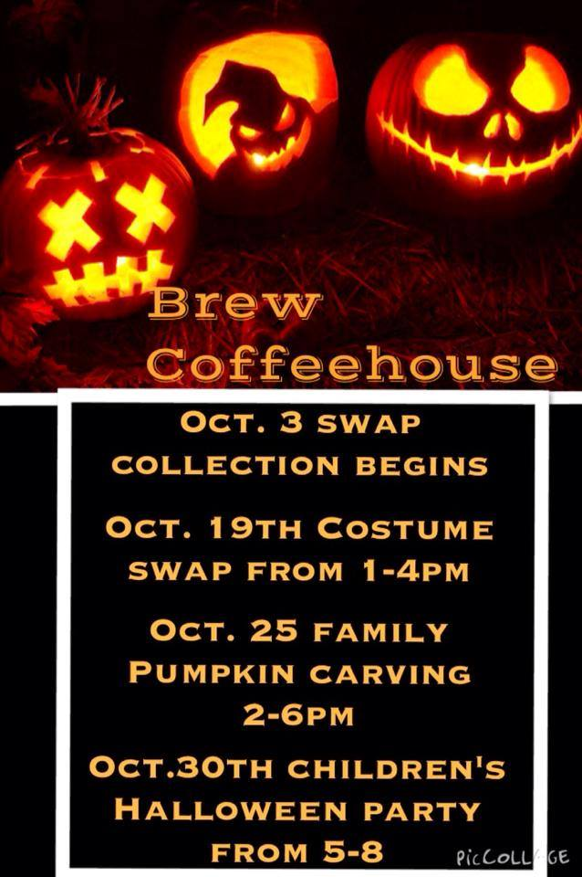 Halloween Activities at Brew Coffee House