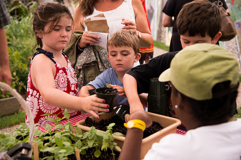 The Edible Garden Harvest Festival Weekend at NYBG on September 27 and 28