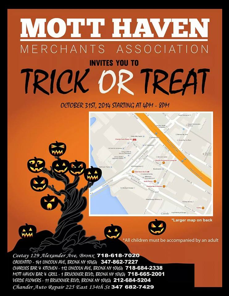 Mott Haven Trick or Treat