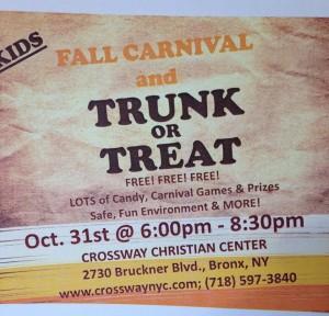 Kid's Fall Carnival & Trunk or Treat