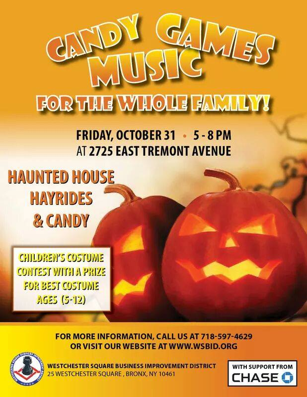 Halloween Fun in Westchester Square