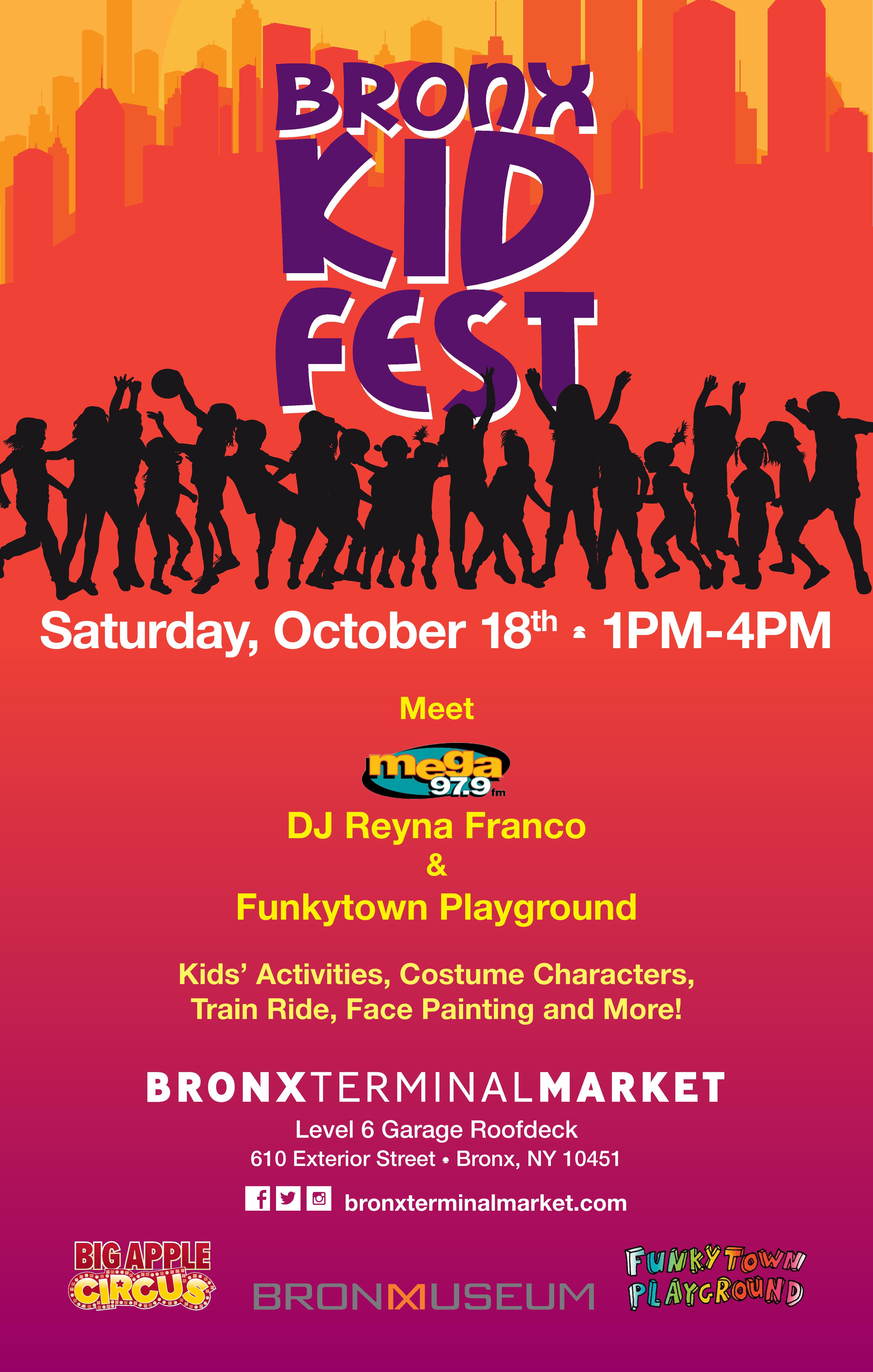 Bronx Kids Fest at Bronx Terminal Market