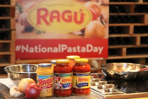 #NationalPastaDay with Ragu