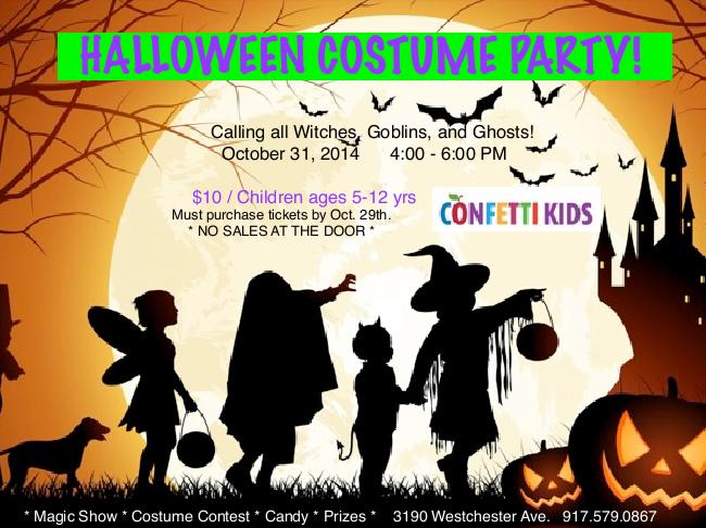 Halloween Fun at Confetti Kids