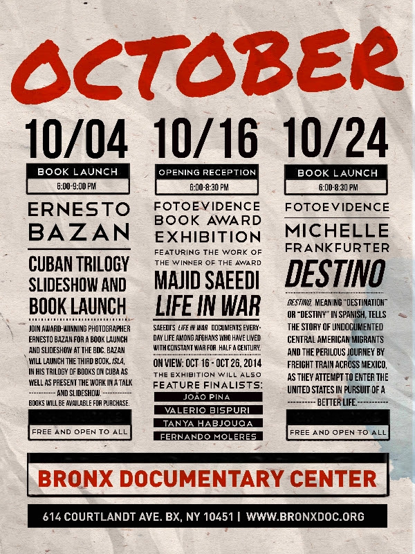 October at the Bronx Documentary Center