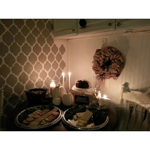 Pinterest Inspired Halloween Party Decor