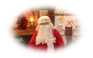 Santa Clause Pajama Time