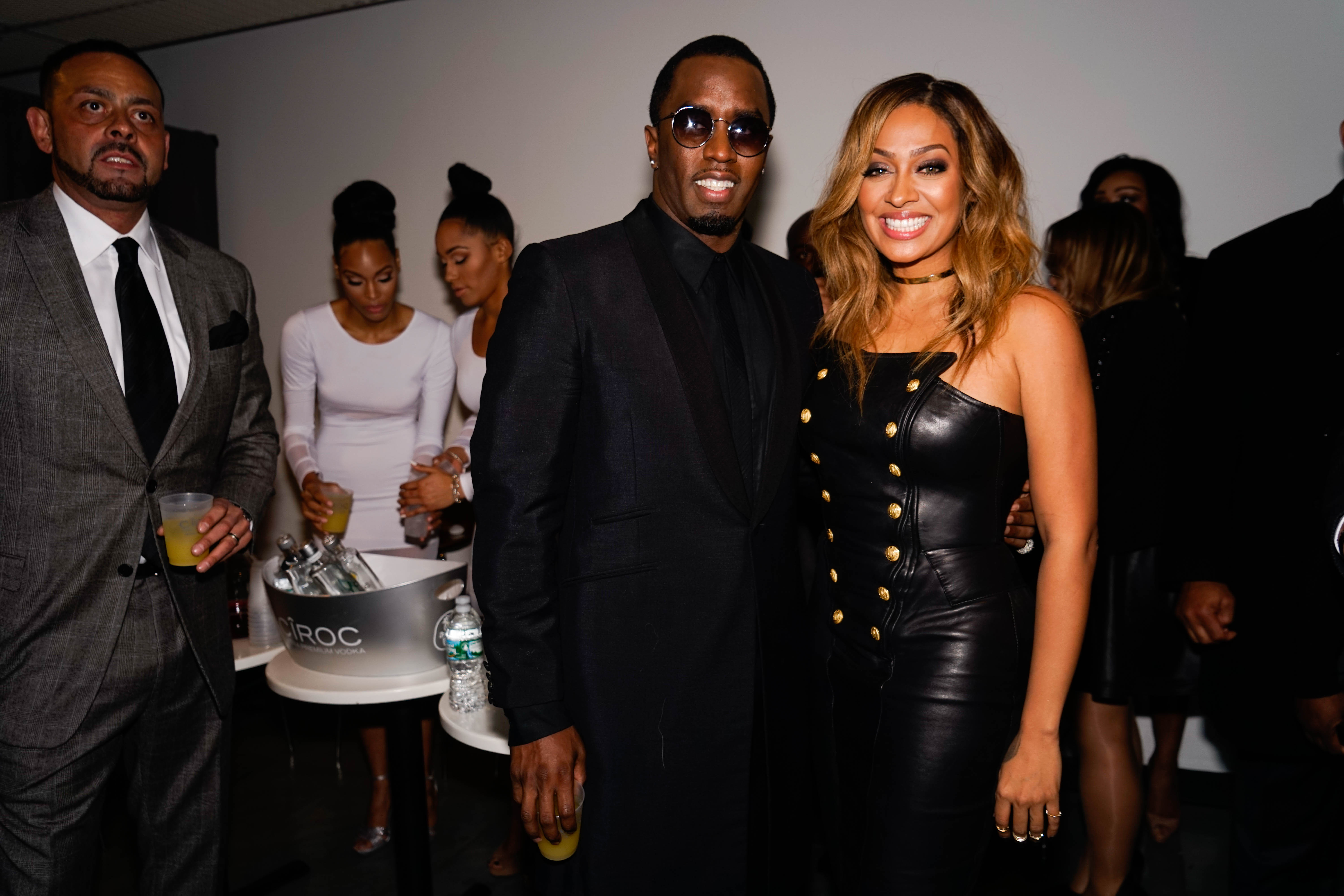 Sean Diddy Combs and La La Anthony