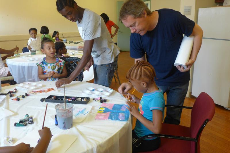 Winter Art Classes at Bronx River Art Center