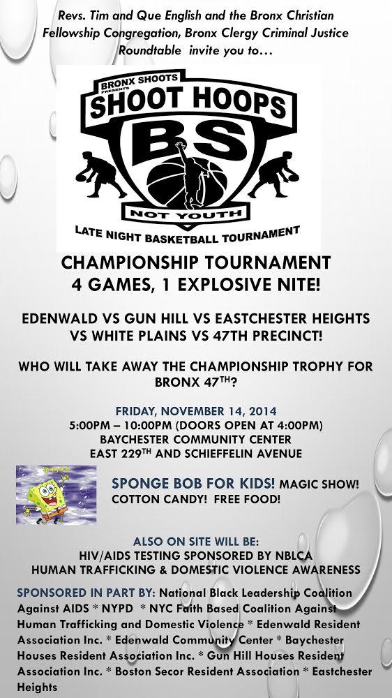 Shoot Hoops Not Youth Basketball Final Championship Tournament