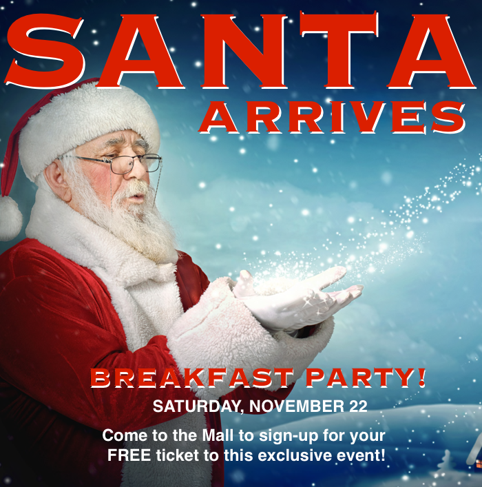 Santa Breakfast Party at Bay Plaza Mall